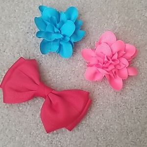 Other - Lot of 3 clip in hair accessories.